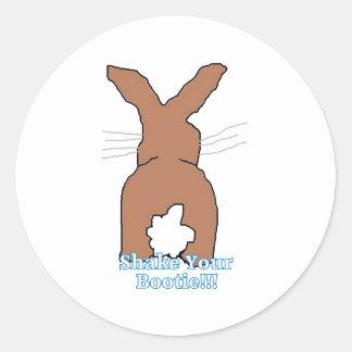 Shake it Bunny Stickers