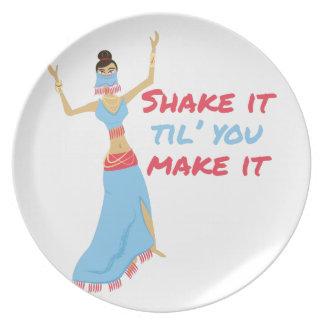 Shake It Dinner Plate