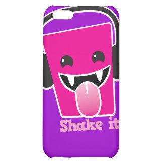 Shake it music MP3 head fun iPhone 5C Covers