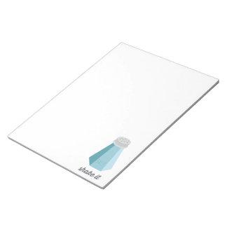 Shake It | Salt Shaker Notepad