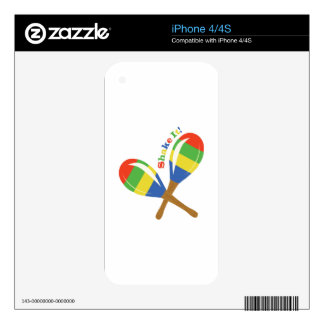 Shake It! iPhone 4 Skin
