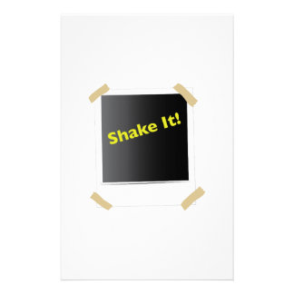 Shake It Customized Stationery