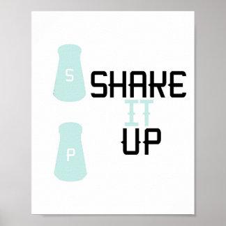 """Shake It Up"" 8x10 Print"