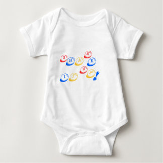 Shake it up! baby bodysuit