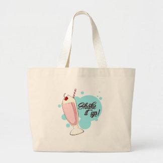Shake It Up Large Tote Bag