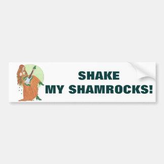 Shake My Shamrocks! Bumper Sticker