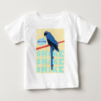 Shake Rattle and Roll Macaw Baby T-Shirt
