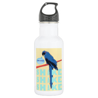 Shake Rattle and Roll Macaw Water Bottle