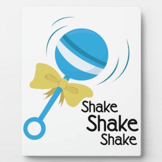 Shake Rattle Plaques
