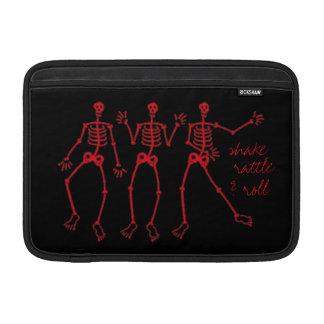shake rattle & roll dem bones skeleton dance iPad Sleeve For MacBook Air