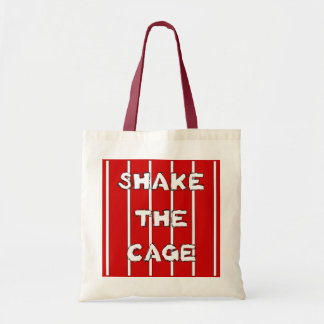 Shake The Cage Tote Bag