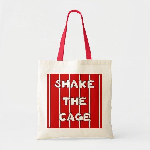 Shake The Cage Tote Bag