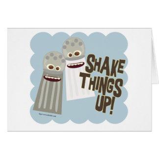 Shake Things Up! Greeting Card