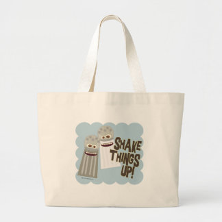 Shake Things Up! Large Tote Bag