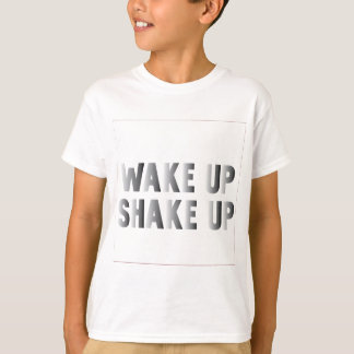 Shake-Up-(White) T-Shirt