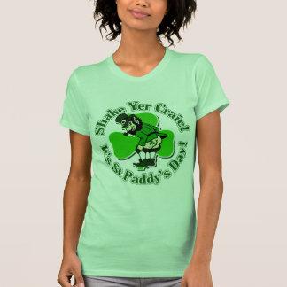 Shake Yer Craic It's St Paddys Day T Shirt