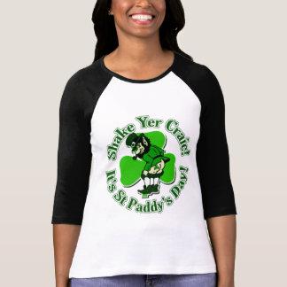 Shake Yer Craic It's St Paddys Day T-shirts