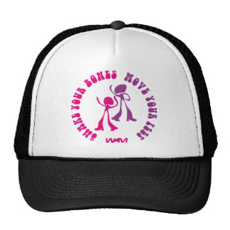 shake your bones move your feet trucker hat