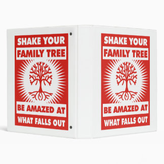Shake Your Family Tree Binder