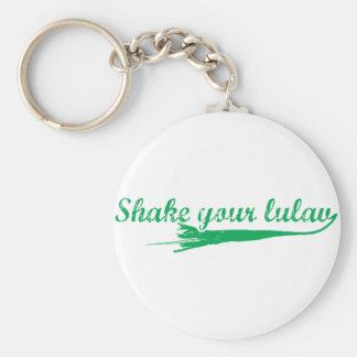 Shake your Lulav Basic Round Button Keychain