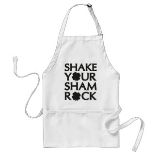 Shake Your Shamrock Adult Apron