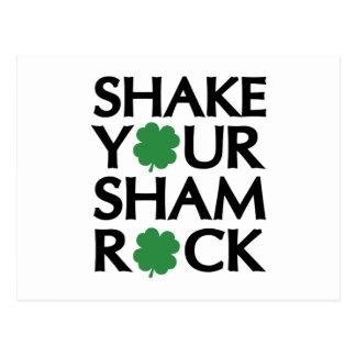 Shake Your Shamrock Postcard