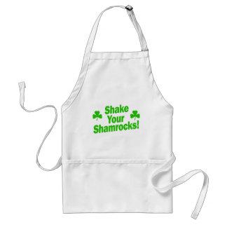 Shake Your Shamrocks! Adult Apron