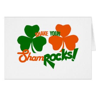 Shake your Shamrocks Card
