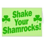 Shake Your Shamrocks! Cards