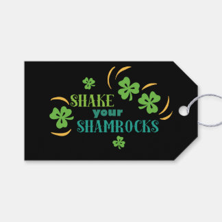 Shake Your Shamrocks Gift Tags