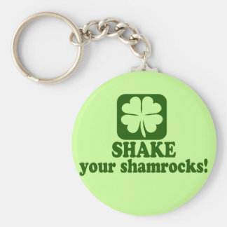 Shake Your Shamrocks Keychain