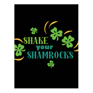 Shake Your Shamrocks Postcard