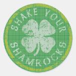 Shake Your Shamrocks Sticker