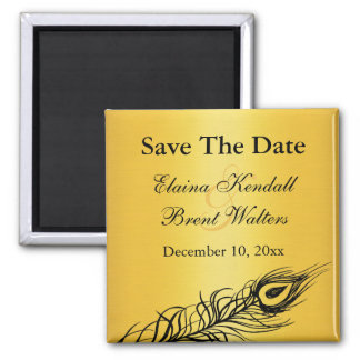Shake your Tail Feathers Save the Date Magnet