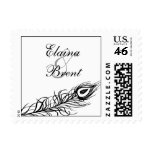 Shake your Tail Feathers Stamp (black)