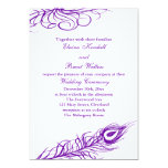 Shake your Tail Feathers Wedding Invitation 2