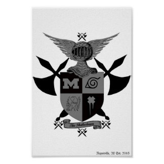 shakedown coat of arms poster