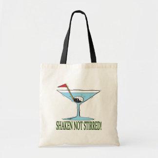 Shaken Not Stirred Budget Tote Bag