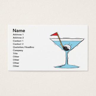 Shaken Not Stirred Business Card