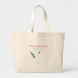 Shaken Not Stirred Jumbo Tote Bag