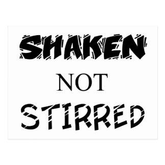 Shaken not Stirred Postcard