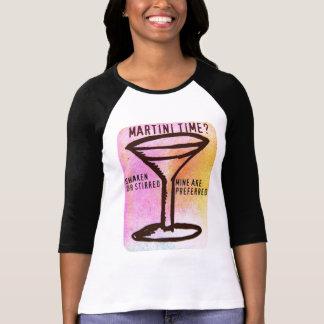 SHAKEN OR STIRRED...MARTINI PRINT T-Shirt
