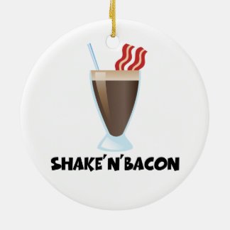 Shake'n'Bacon Ceramic Ornament