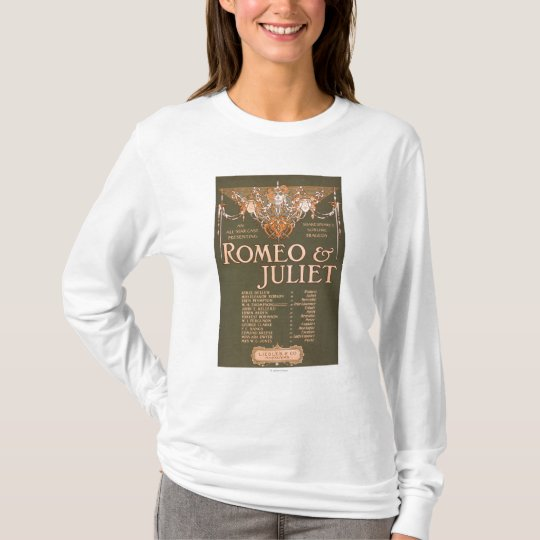 """Shakepeare's Sublime Tragedy """"Romeo & Juliet"""" T-Shirt"""