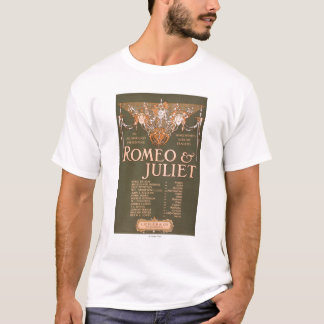 "Shakepeare's Sublime Tragedy ""Romeo & Juliet"" T-Shirt"