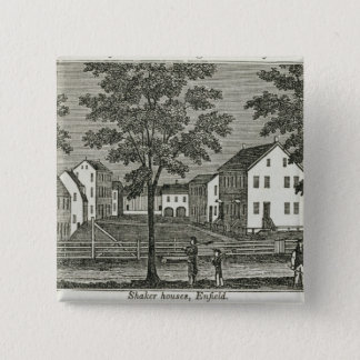 Shaker houses in Enfield Pinback Button