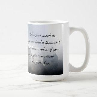 Shaker Maxim Mug