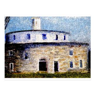 Shaker Round Barn Postcard