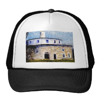 Shaker Round Barn Trucker Hat