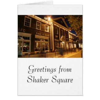 Shaker Square at Night - 1 Card